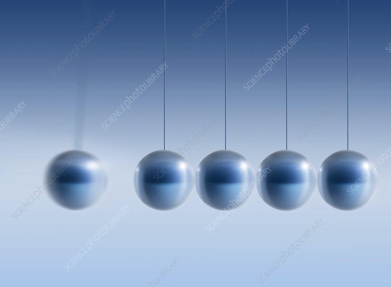 Newton's cradle, artwork