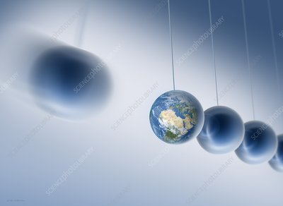 Newtonian Earth, conceptual artwork