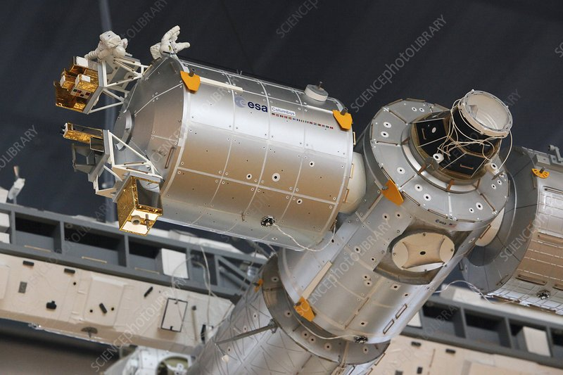 International Space Station model
