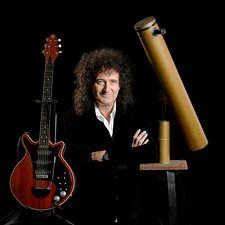 Brian May, astrophysicist and musician