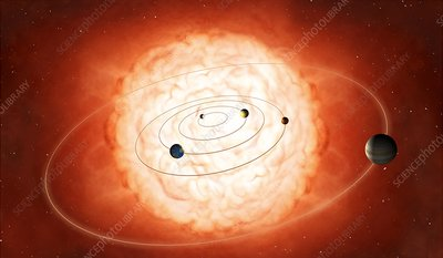 Betelgeuse and Solar System