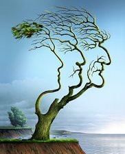 Family tree, conceptual artwork