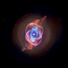 Cat's eye planetary nebula
