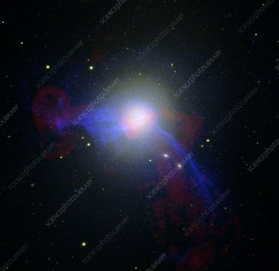 Giant elliptical galaxy M87