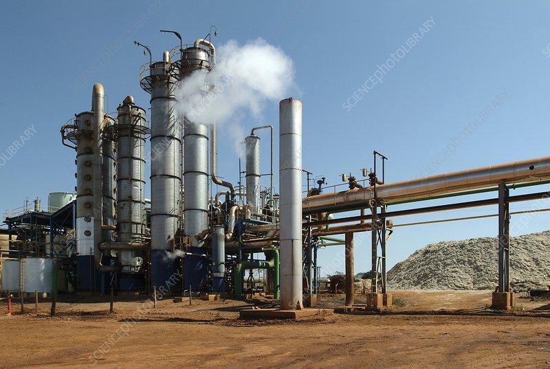 Sugar cane factory - Stock Image C006/9105 - Science Photo ...