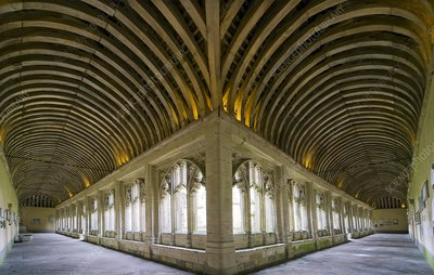 Winchester College cloister arcades