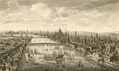 London and the Thames, 18th century