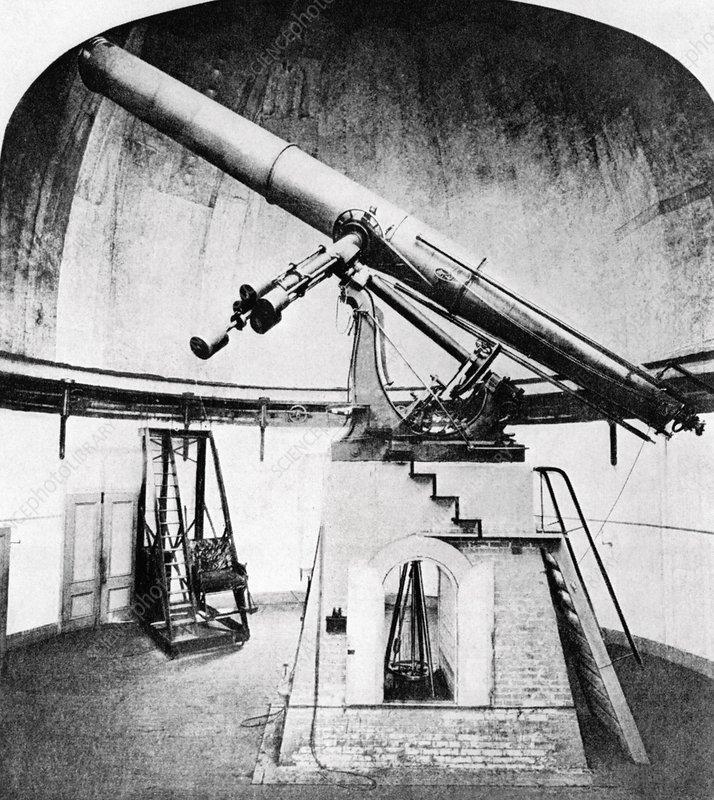 USNO Great Equatorial telescope - Stock Image C007/0128 ...