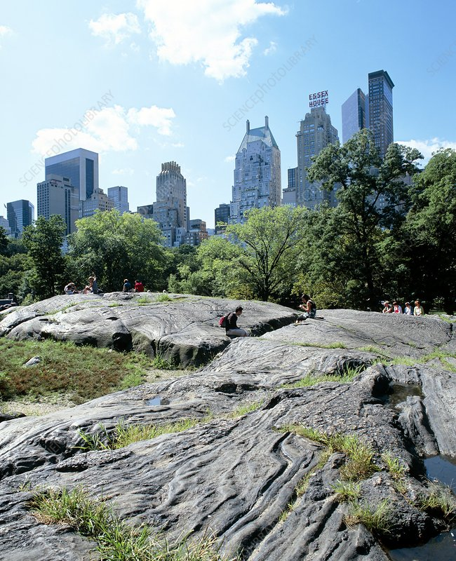 Central Park New York: Umpire Rock, Central Park, New York