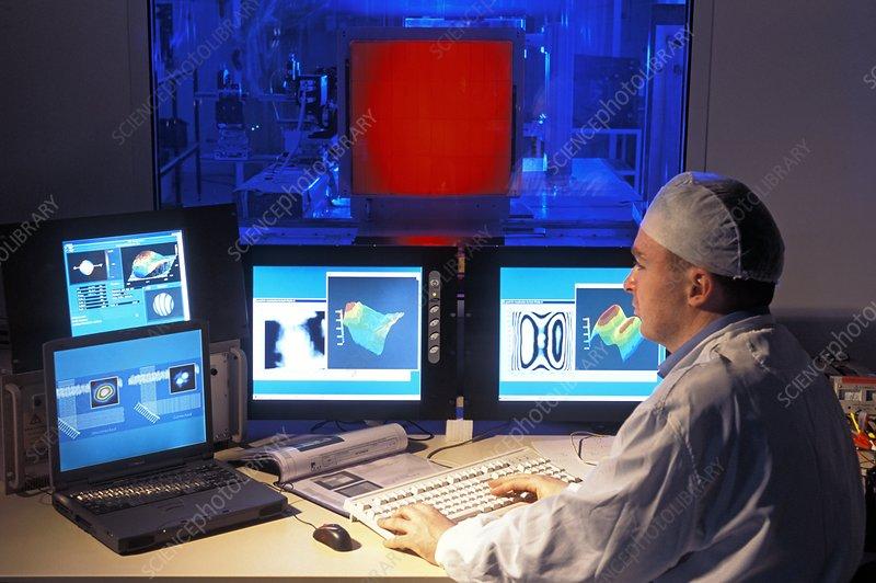 Laser Megajoule optics programming