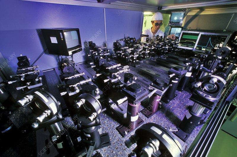 Laser Megajoule optical equipment