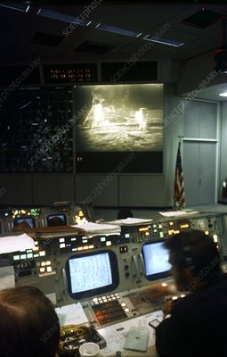 Apollo 11 mission control