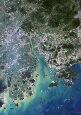 Pearl River Delta, China, 2000