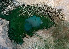 Lake Chad, 1999, satellite image
