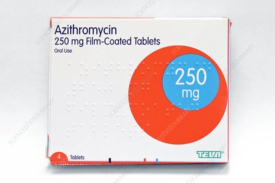Azithromycin for throat infection