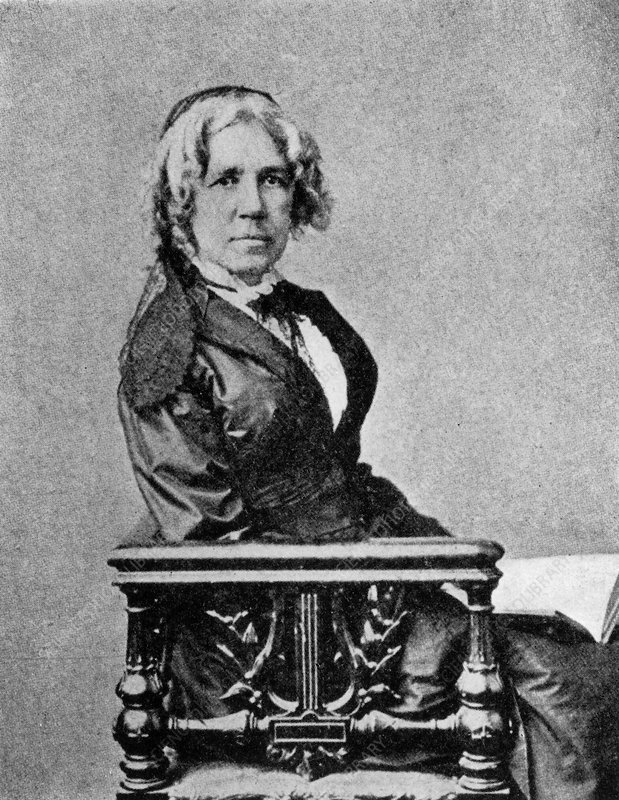 Maria Mitchell, US astronomer