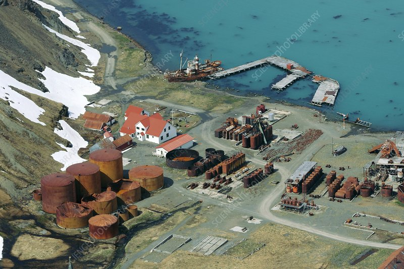 Grytviken whaling station, South Georgia