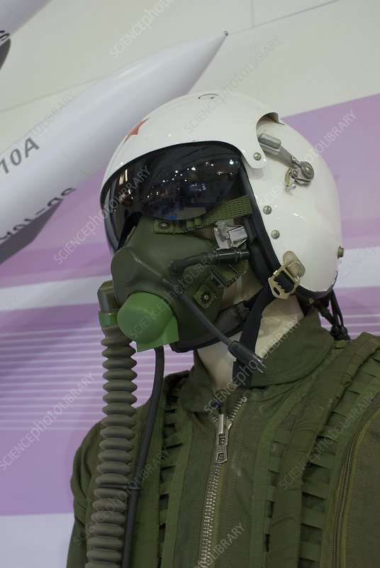 Russian fighter pilot