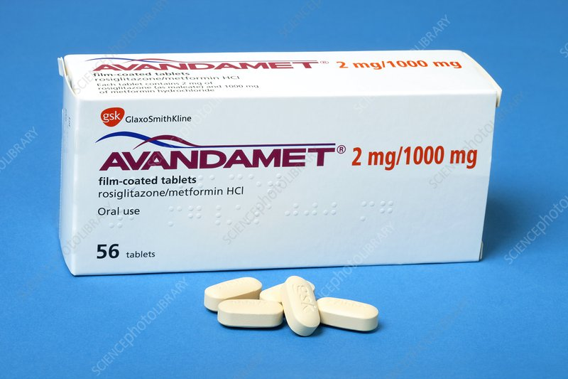 Avandamet diabetes drug