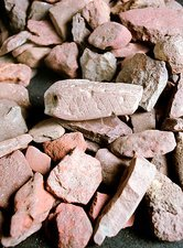 Stone Age ochre fragments