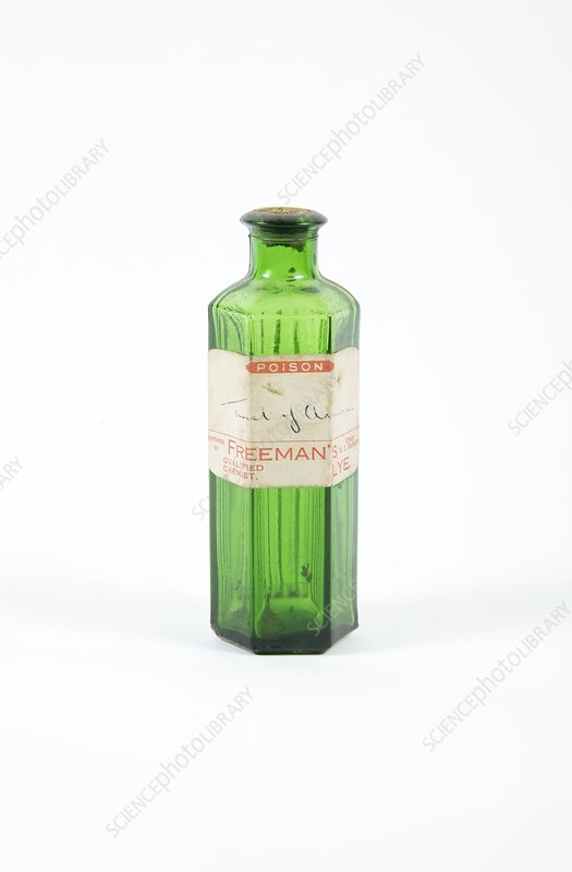 Antique pharmacy bottle