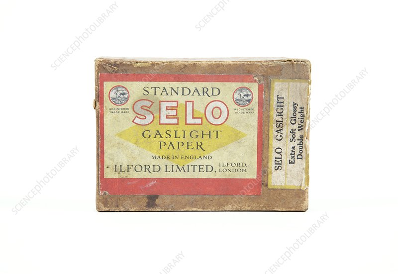 Gaslight photographic paper