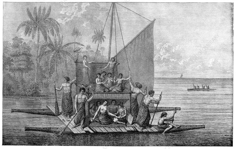 Exploration of Tonga, 18th century