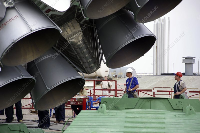 Proton-M rocket engines