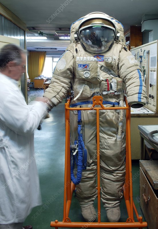 Russian Orlan space suit