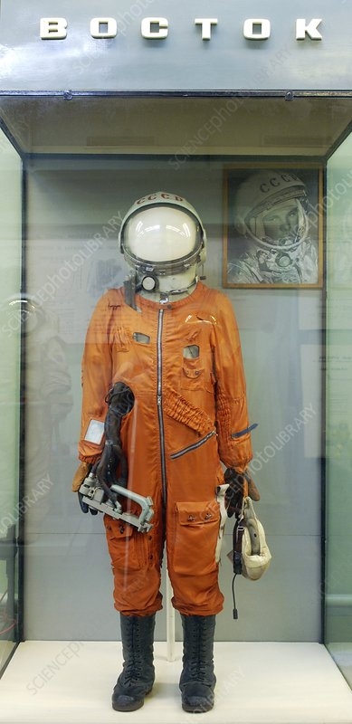 First Russian spacesuit