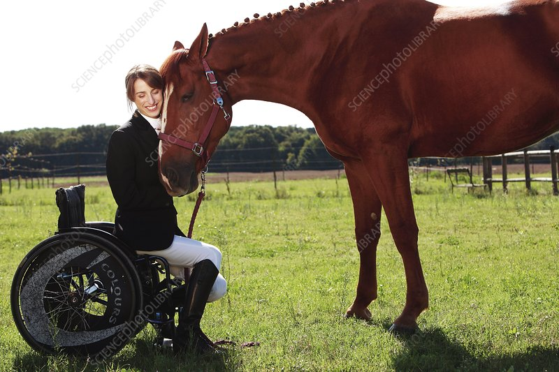 Disabled equestrian