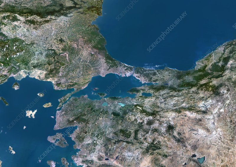 Sea of Marmara, satellite image