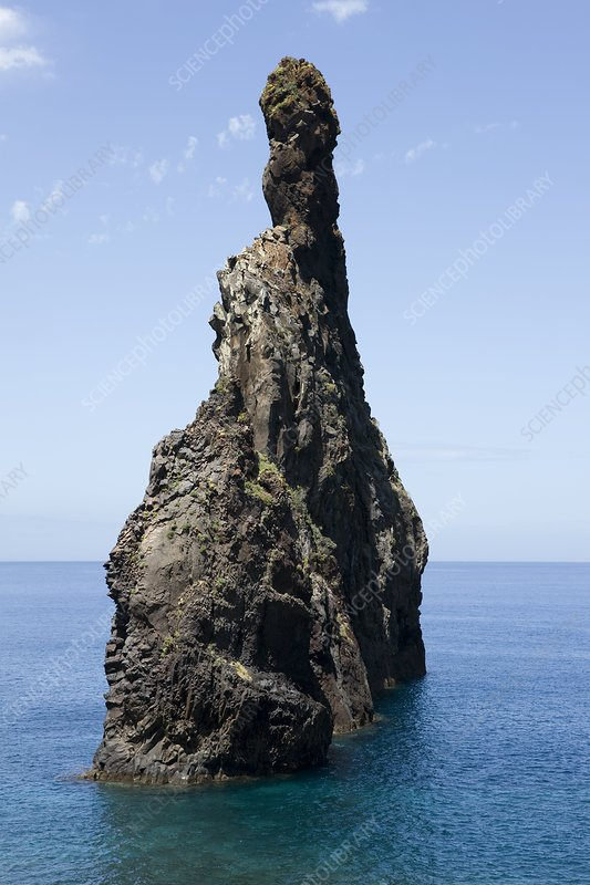 Sea stack, Madeira