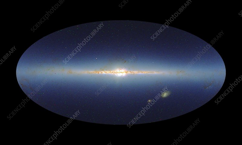 Swift mission gamma ray burst map, 2010