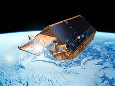 Cryosat-2 satellite, artwork