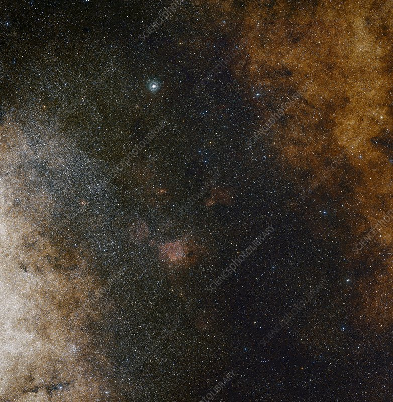 Milky Way centre, composite image