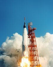 Mercury-Atlas 6 launch