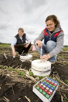 Agricultural soil research