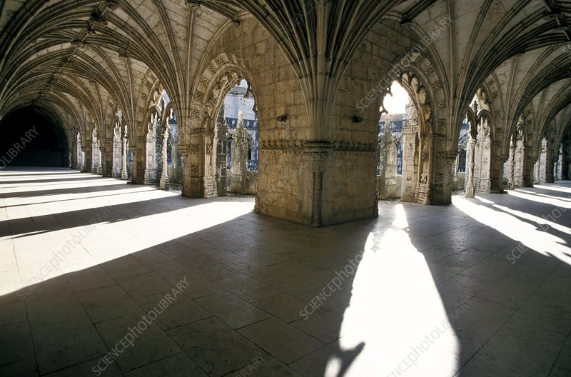 Cloisters of Jeronimos Monastery, Lisbon