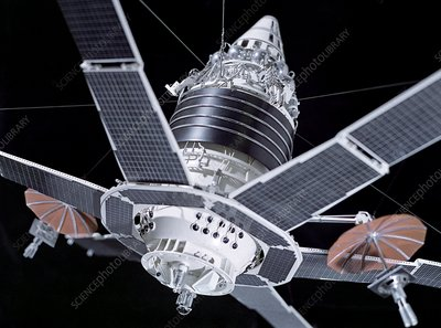 Molniya military communication satellite