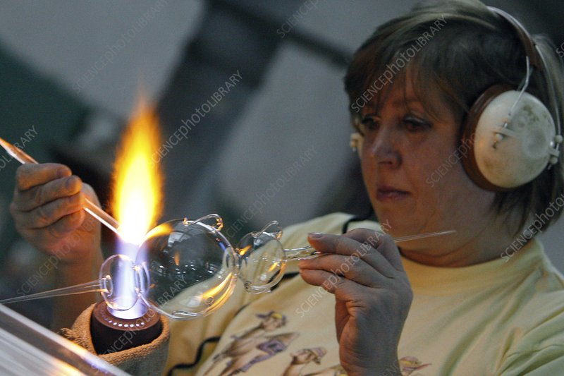 Female Glass Blower
