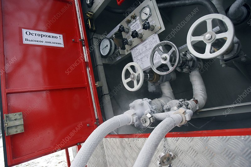 Liquid nitrogen fire appliance controls