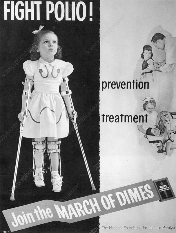 Fight Polio - Stock Image C007/5885 - Science Photo Library