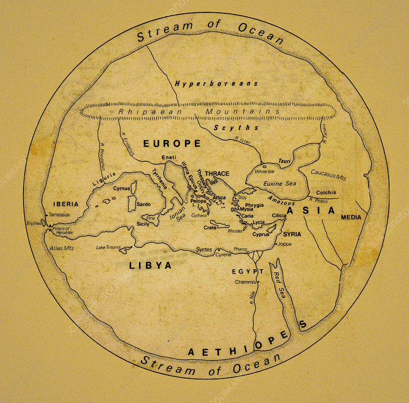 The world as seen by the ancients