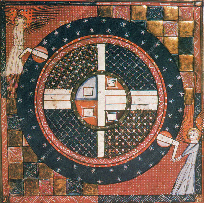 14th Century Celestial Illustration