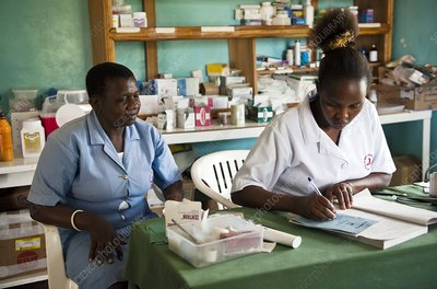 Medical clinic, Tanzania