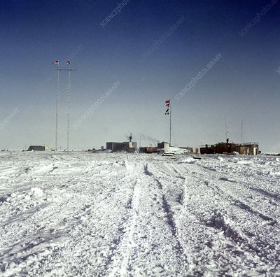 Russian Antarctic research station