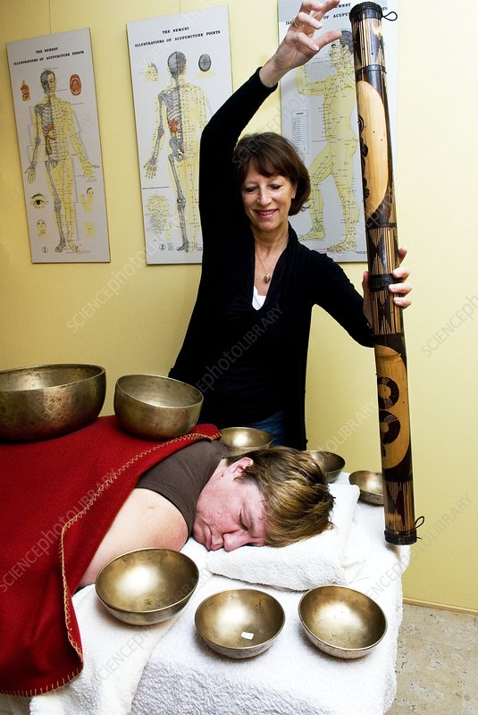 Tibetan bell therapy and rainstick
