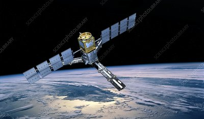 SMOS satellite, artwork