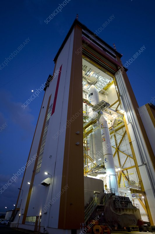 Planck and Herschel launch rocket